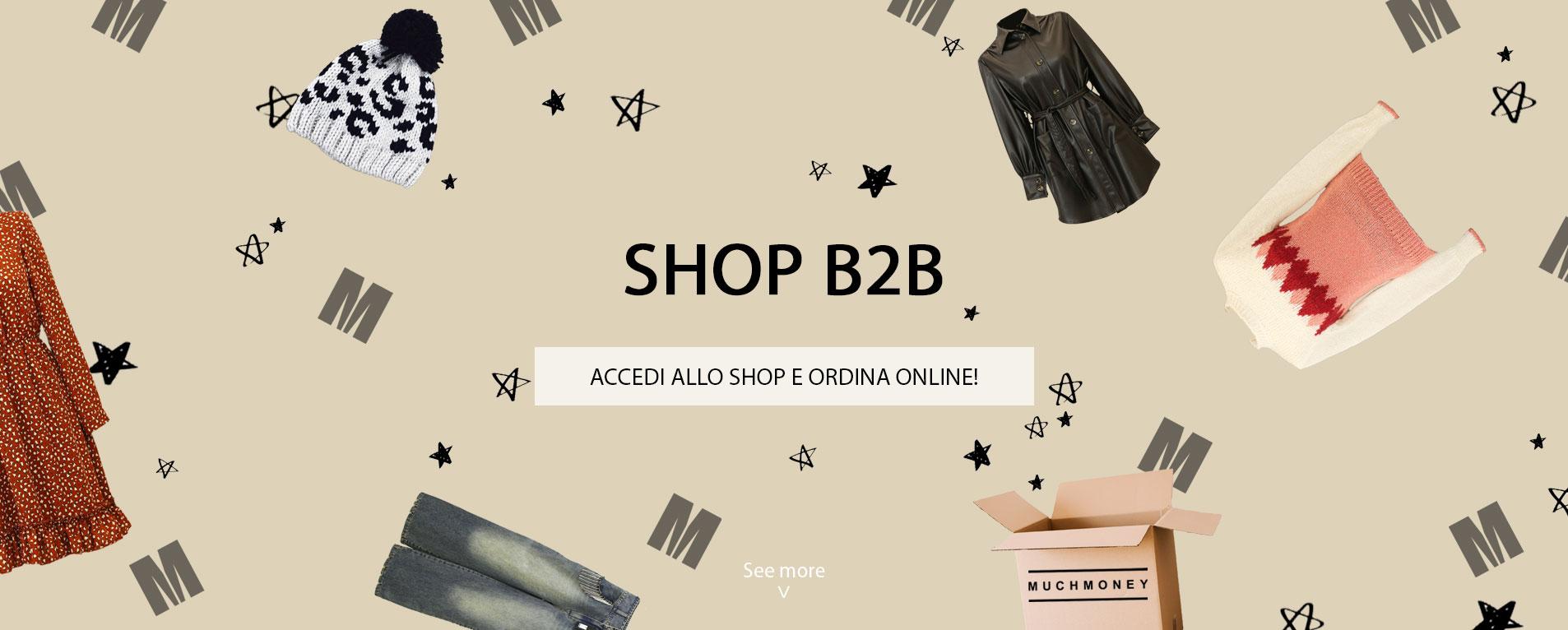 Accedi allo shop e ordina online